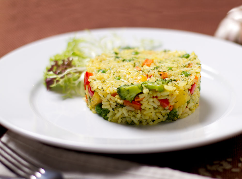 Рис з овочами
