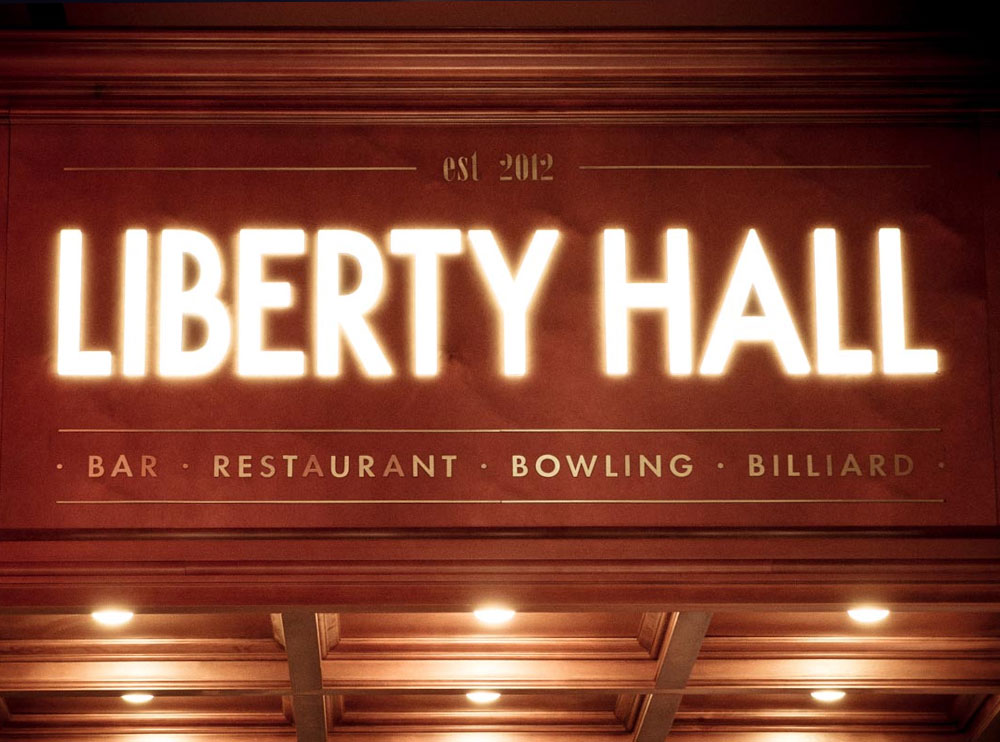 «Liberty Hall», інтер'єр закладу фото 14