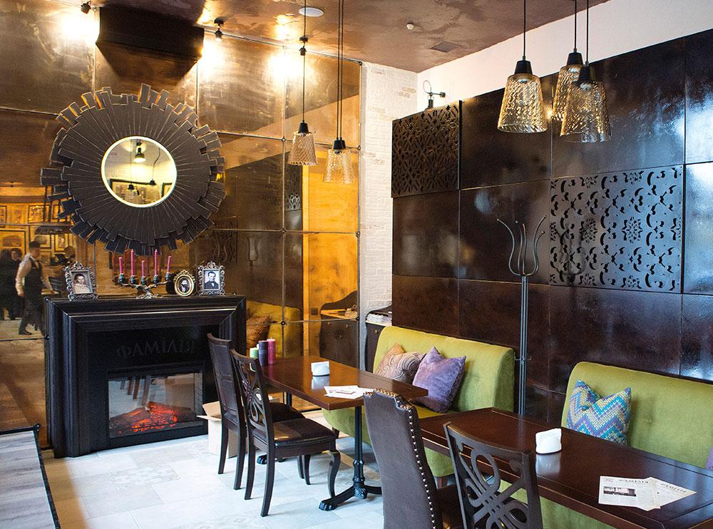Ресторан «Фамілія», інтер'єр закладу фото 8