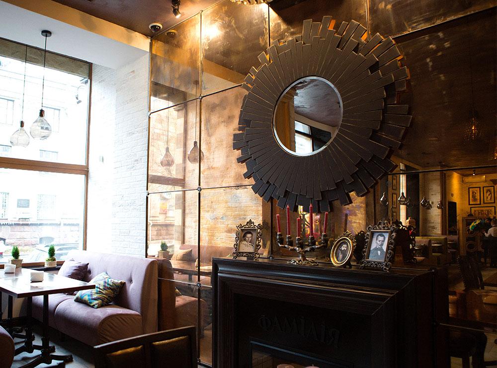 Ресторан «Фамілія», інтер'єр закладу фото 4